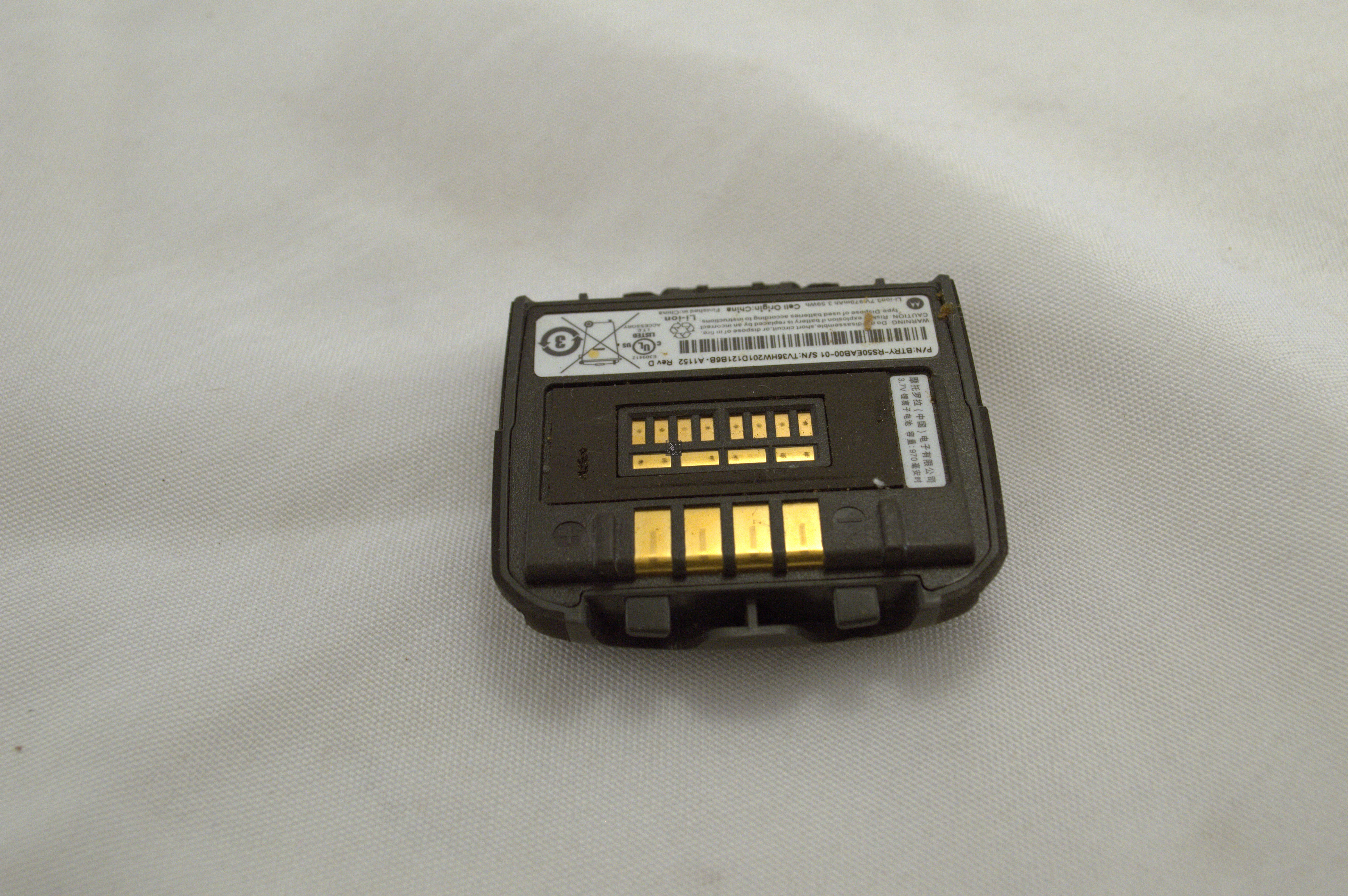 Used Motorola RS507 Battery btry-rs50eab00-01 970mAh Scanner