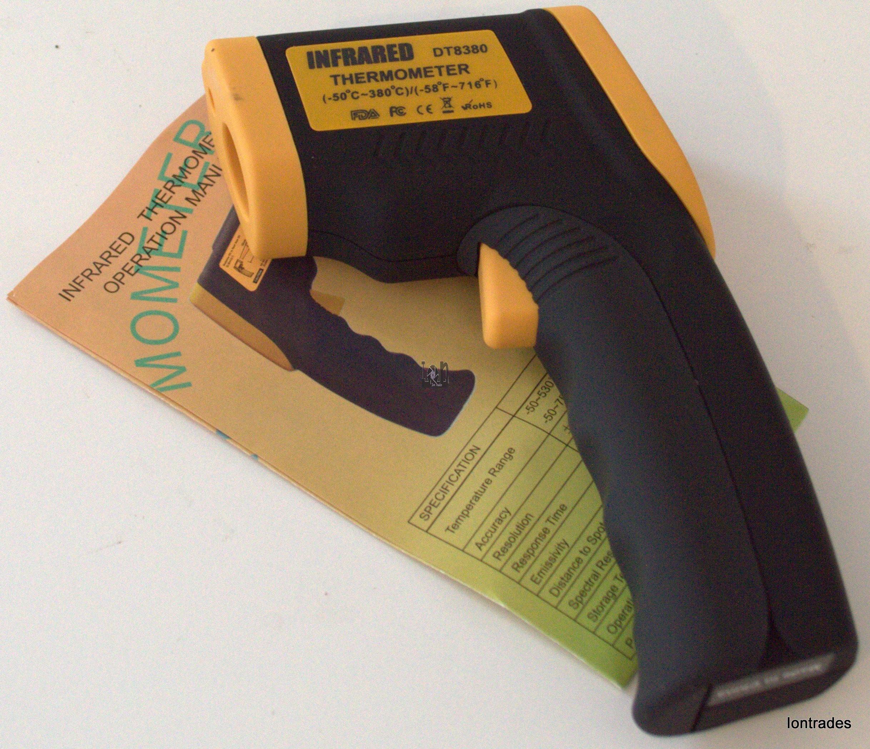 Wireless Infrared Thermometer Laser Sensor