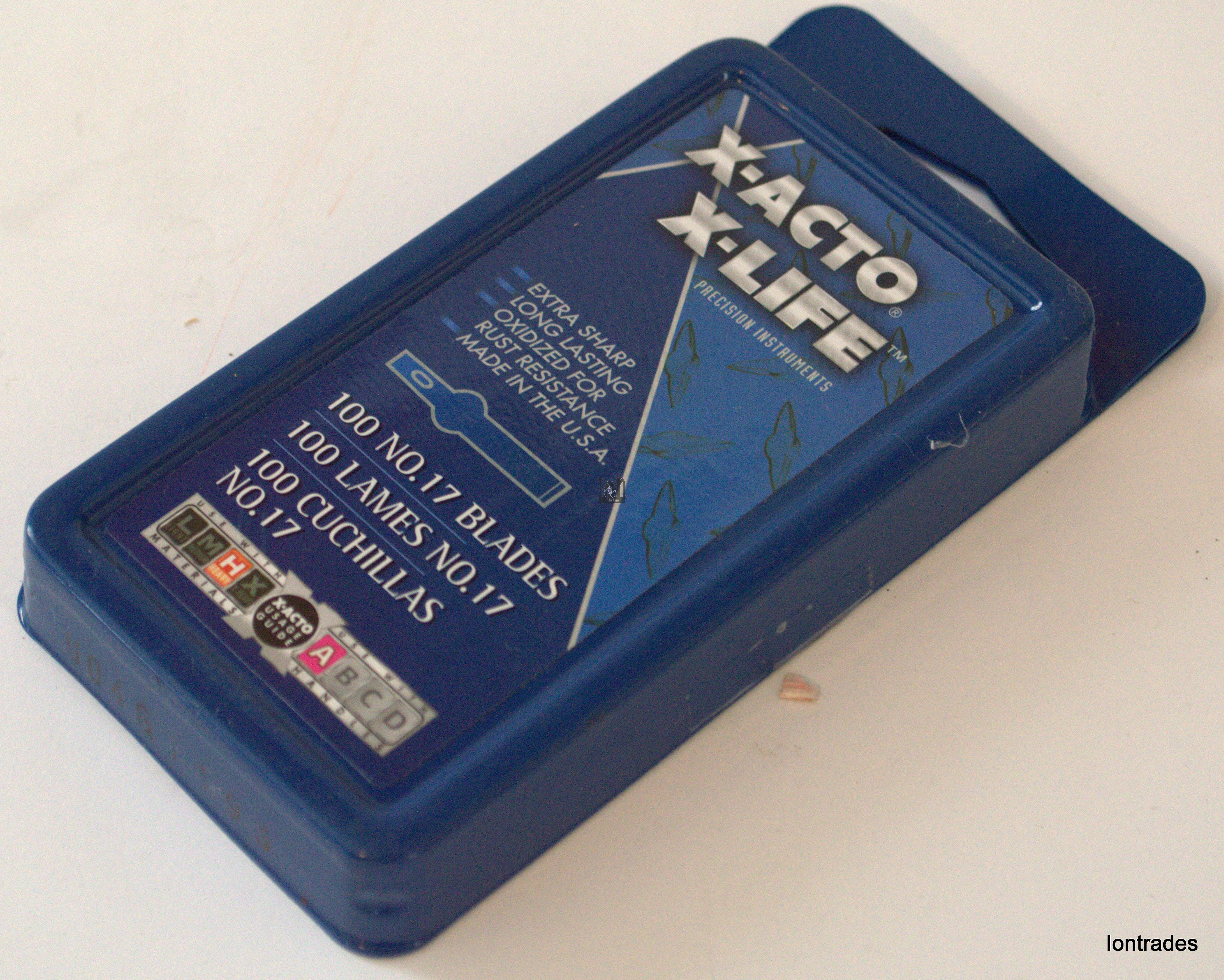 X-Acto X-Life 100pk No. 17 Blades Replacements