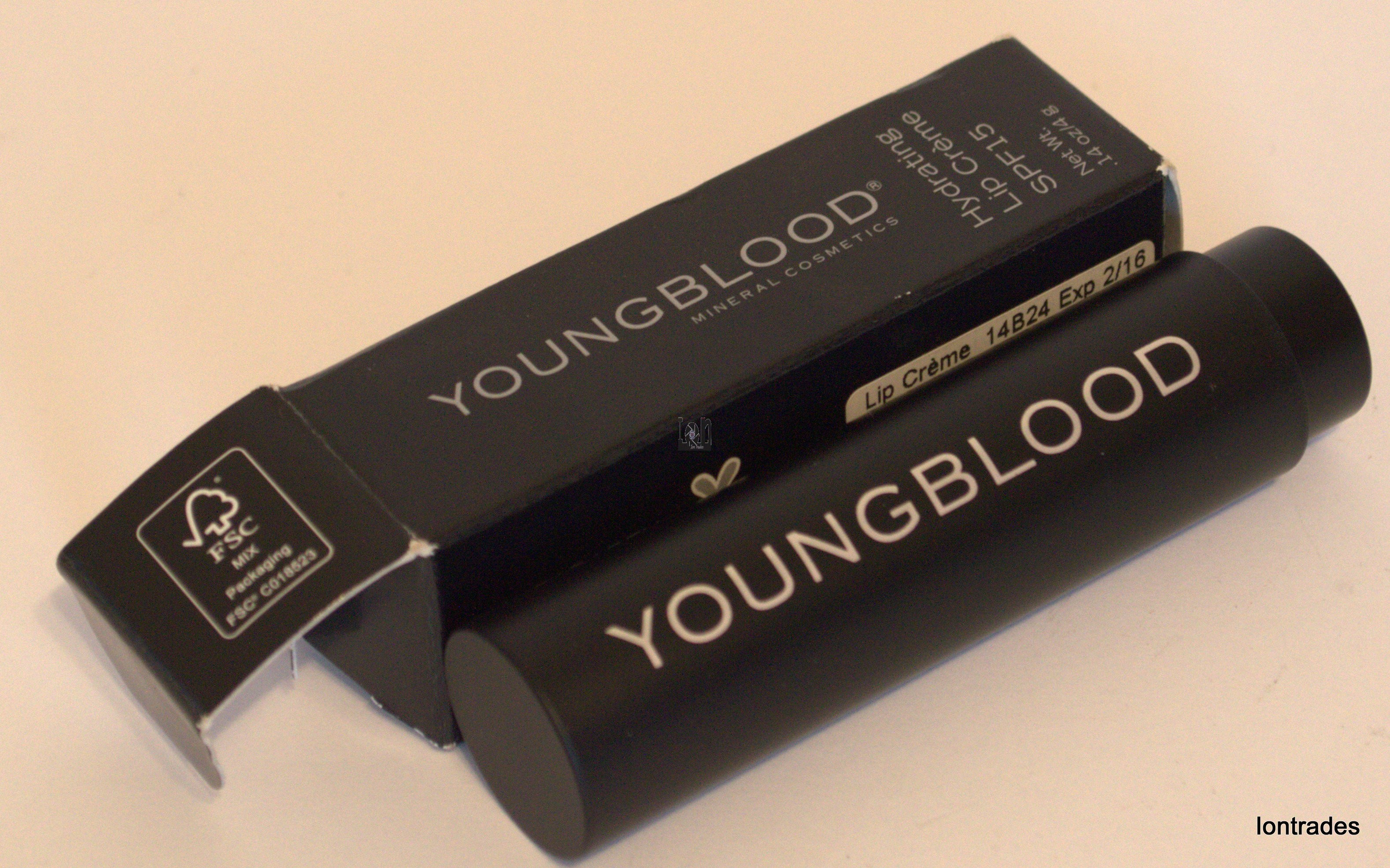 Youngblood Cosmetics SPF15 Hydrating Lip Creme .14oz 14B24 Gloss