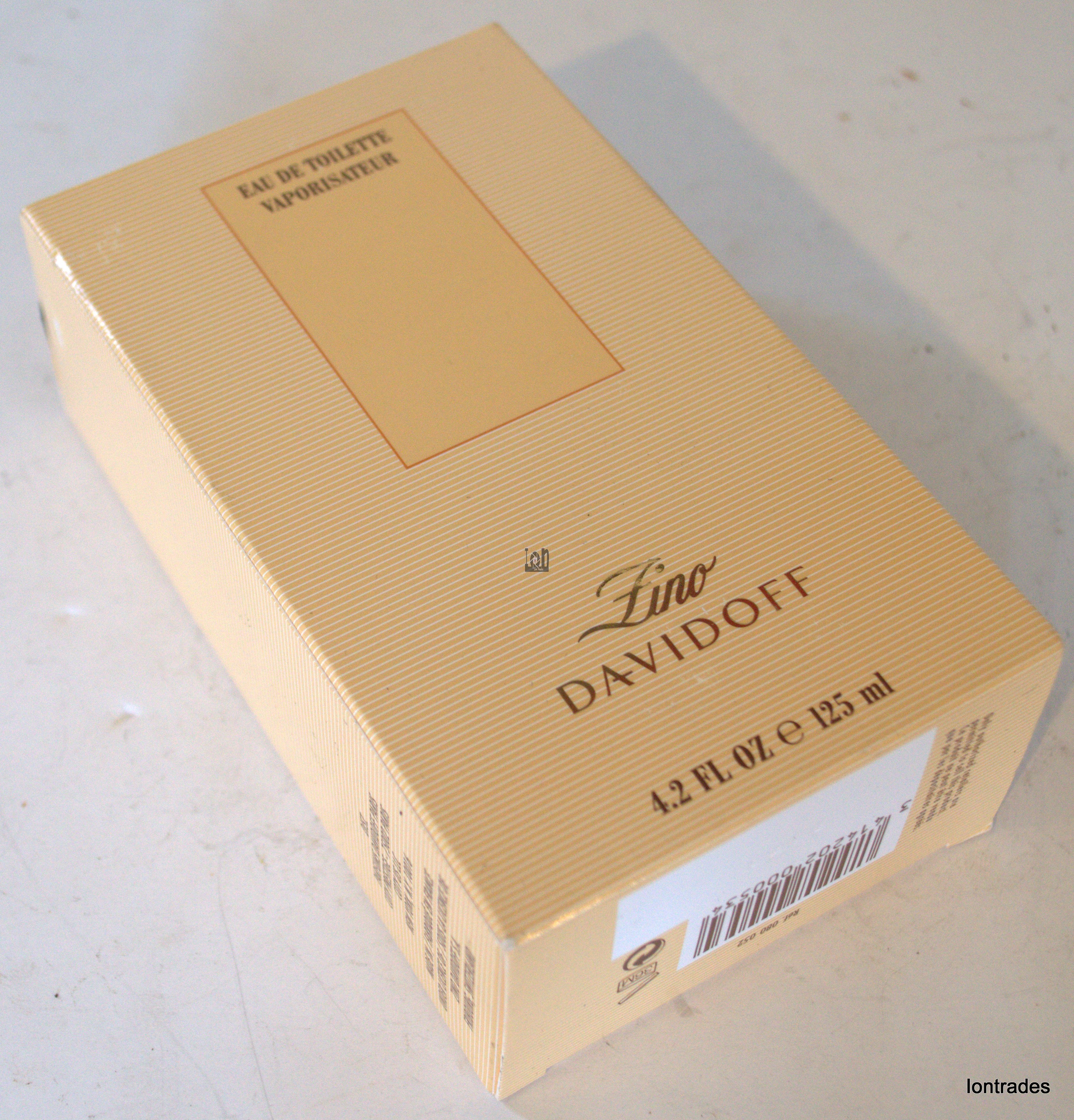 Zino Davidoff Mens Cologne 4.2oz Spray Bottle Eau De Toilette