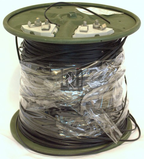 6145-01-155-4258 Military Surplus Telephone Cable Reel 2-Wire