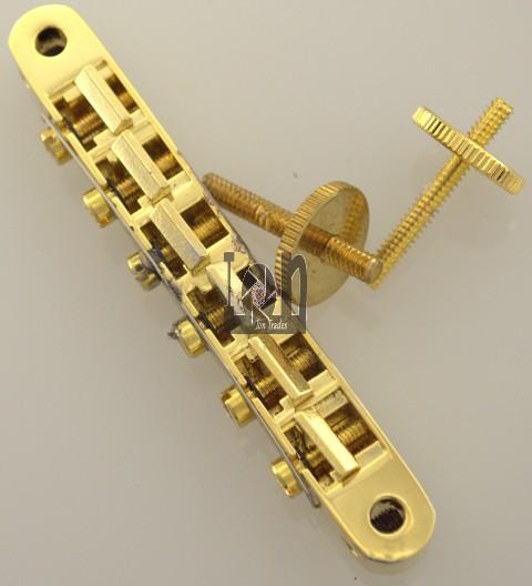 Damaged Tone Pros System II 2 Locking ABR-1 Bridge Gibson