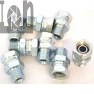 "10pc Eaton Hydraulic Fittings 9205X6X6 3/8"" Female Pipe Swivel to 3/8"" Male Thread"
