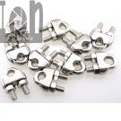 10pc Lot M6 14 Stainless Still Wire Rope Clamps U Bolt Clips 304 SS