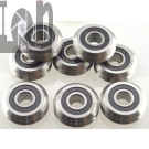 10pc RM2-2RS 38 Bearings 9.525 x 30.73 x 11.1mm V Groove Sealed Ball Vgroove Bearing