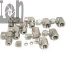 """10pc Swagelok 1/4"""" Elbow 90deg 316 Stainless Steel Fitting Adapter 1/4"""" Tube x 1/4 Female NPT"""