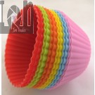 12Pc Silicone Cupcake Liner Baking Cup Mold Muffin Cups