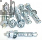 "138pc Lot 1/2"" x 3-3/4"" Wedge Anchors, Bolts for Concrete Masonry Fastener Anchor"