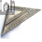 """1987 Swanson Speed Square 7"""" Aluminum Vintage Tools"""