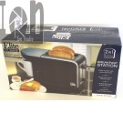 2-in-1 Breakfast Station Toaster and Coffee Maker Combo ECT-819