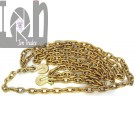 """20' Chain with Hooks 3/8"""" G70 Tie Down Towing Flatbed Binder Chain"""