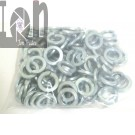 "25 Pack 5/8"" Lock Washers Zinc Plated Steel 0.630"" Bore x 1.055"" O.D."