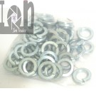 "25 Piece 3/4"" Lock Washers Zinc Plated Steel 0.763"" Bore x 1.242"" O.D."