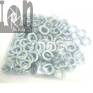"25 Piece 7/16"" Lock Washers Zinc Plated Steel 0.448"" Bore x 0.772"" O.D."