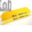 25pk DeWALT DW4809 Reciprocating Saw Blades 7 14TPi Bi Metal Blades