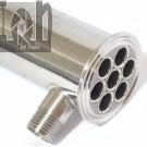 """2"""" x 20"""" Tube Condenser Still Brew Supplies Stainless Steel"""