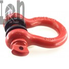 2pc Lot 4 Ton 34 D Ring Shackle Screw Pin Galvanized Shackle RED