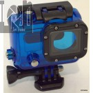 30mm GoPro Hero Protective Housing BLUE For Hero 3 Diving Case Waterproof