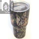 30oz Stainless Steel Thermos Tumbler Coffee Container Camo Print
