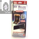 35 Below Socks 2 pairs in Black; Size Small/Medium Cold Weather WInter Socks