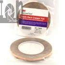 3M Venture Tape Black Back Copper Foil Tape 732 x 36YD