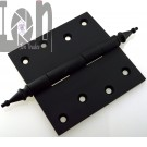 "4"" Steeple Tipped Door Hinge Oil Rubbed Bronze Restoration"
