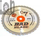 "5-1/2"" C7 Carbide TIpped Circular Saw Blade BB510 36-Tooth 10mm Bore"
