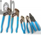 5pc Channel Lock Pliers Set USA Made Wire Cutters Strippers and Adjustable Wrenches