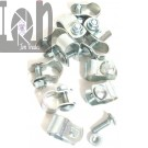 "20pc Lot 1/2"" Pipe Clips Clamps for Awnings Chain Link Fence Gate"