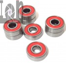 8pc Lot Skateboard Bearings ABEC-9 608-RS Bearing