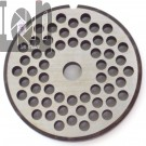 "#22 Meat Grinder Plate with 1/4"" Holes Stainless Steel Parts"