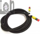 Aeroquip 9ft MS28741 Hose 3000PSI Aviation Air Hydraulic Hose 4720-00-640-0398