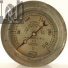 Red Fire Extinguisher Co Gauge