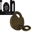 3D Model Antique Brass Police Lock Steampunk 3 Scanned