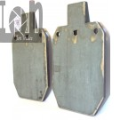"AR500 Target Steel Silhouette 7"" x 12"" Gong IPSC IDPA"