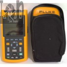 AS-IS Fluke 124 Industrial Scopemeter 40MHz Oscilloscope Multimeter For PARTS