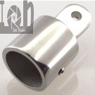 Bimini Top Cap for 1 Tube Stainless Steel Eye End for Boat Yacht Top
