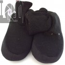 Cardigan Slipper Socks Ladies 8-9 BLACK House Slippers