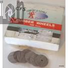 Comfort Flexible Systems 100pc Rubber Wheels Dental Jewelry Polishing