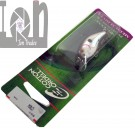 Cotton Cordel Fishing Lure Medium Diver Big O Black Back