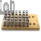 Derbyshire Magnus Elect 10mm Metric Collet Set 35pc Watchmaker Lathe Jewelers Tools