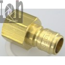 "Dixon 1/2"" Female NPT Brass Fitting 1/2"" Pressure Washer Quick Connect Male"