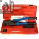 Drof 12 Ton Hydraulic Crimping Tool 6 AWG to 300kcmil Wire Cable Crimper