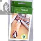 Fox Run Cannoli Forms 4pc Set 14.12cm x 2.22cm Steel
