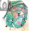 High Sierra Girls Backpack Dragonfly Floral Pattern Bookbag