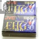 JVC  EHG 30 Hi-Fi Cassette 2pack 30Minute VHS-C