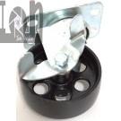 """Locking Swivel All Steel Caster Wheel Swivel Caster 3.5"""" x 385lb"""