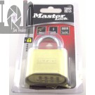 "Master Lock 175D Resettable Combination Lock Brass 1"" Shackle"