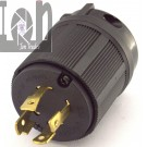NEMA L1430P L14-30P Locking Generator Plug 30A 125V 250V